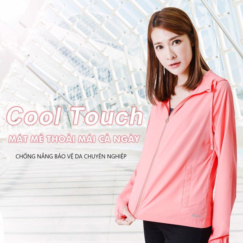 Áo khoác chống nắng nữ UV100 AA21017