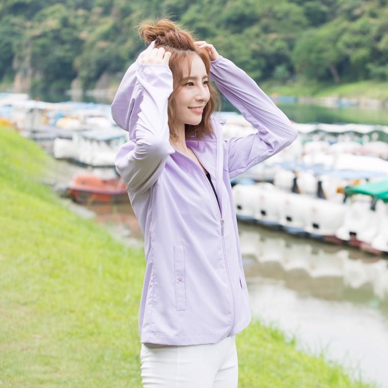 Áo khoác chống tia UV nữ UV100 AA91059
