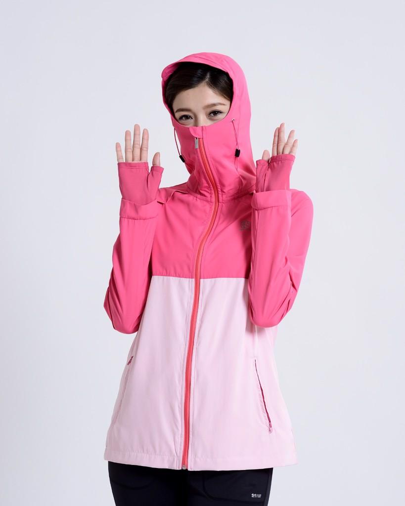 Áo khoác chống tia UV nữ UV100 AA61017