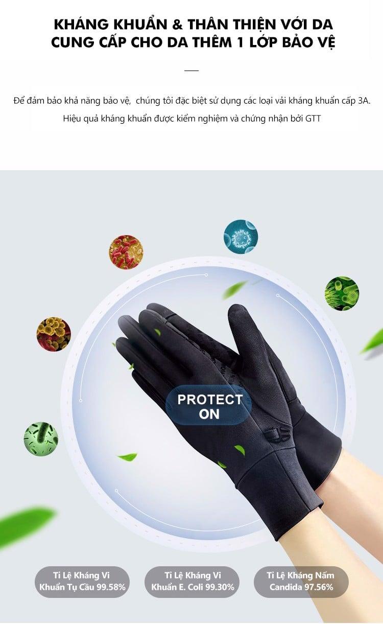 Găng tay chống nắng nam UV100 KC20364