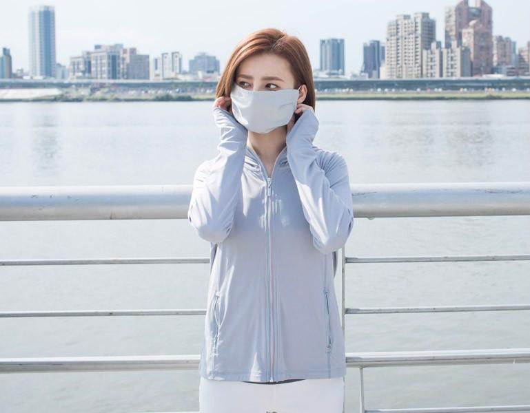 Khẩu trang chống nắng nữ UV100 LC10027