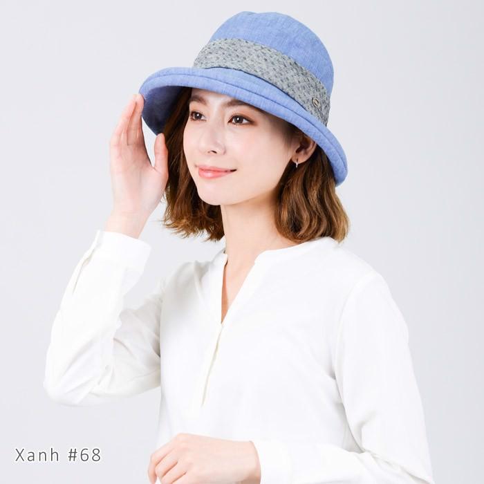 Màu sắc Nón vành nhỏ chống tia UV chất vải mềm UV100 ME 20416