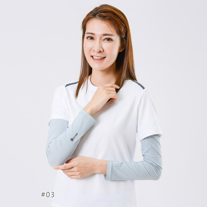 Ống tay áo chống tia UV thoáng mát UV100 KB 20404