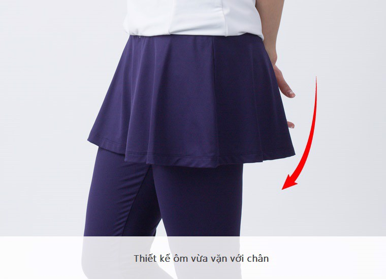 Quần váy chống nắng UV100 CH 81043