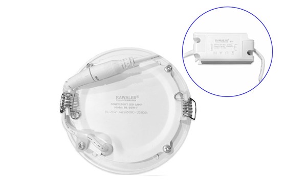 Bán Đèn LED downlight Kawa DL108-6W-T/V 3