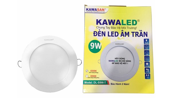 Bán Đèn LED downlight Kawa DL135-9W-T/V 4