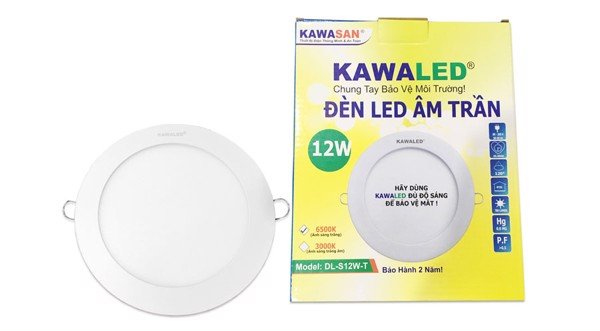 Bán Đèn LED downlight Kawa DL158-12W-T/V 3