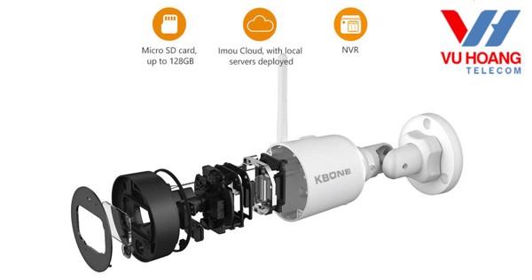 Camera IP Wifi 4.0MP KBONE KN-4001WN - 2