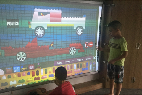 How a smart board enhances preschool learning ?