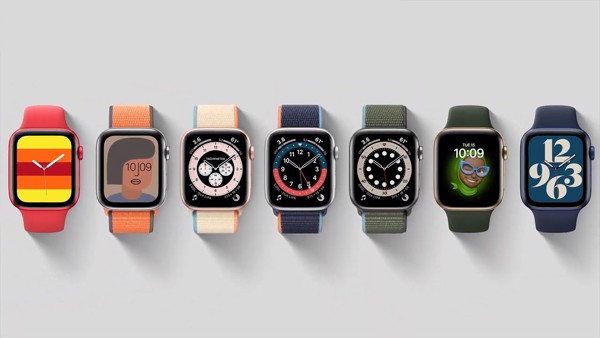 bảng màu apple watch s6