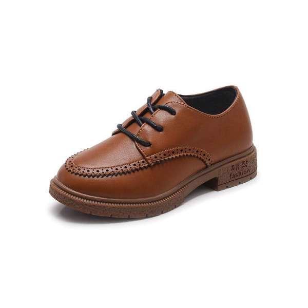 giày da trẻ em