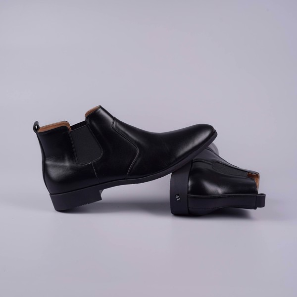 Giày Boot nam da thật cổ chun cá tính