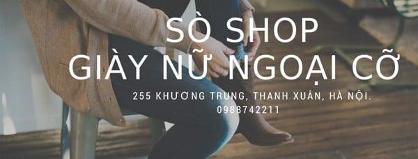 Cửa hàng giày ngoại cỡ giày big size Sò Shop
