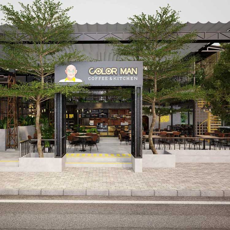 COLOR MAN CAFE&KITCHEN