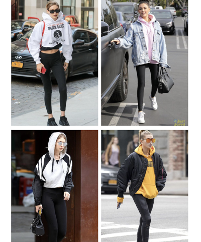 Hoodies season: 5 perfect looks for fall