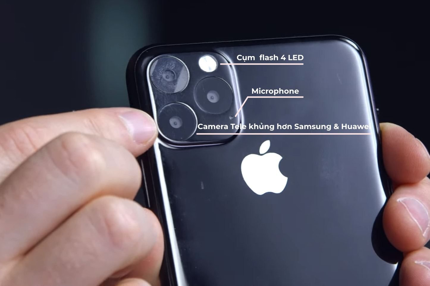 Cụm 3 camera của Apple iPhone 11 Max
