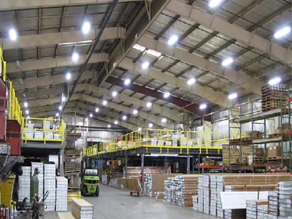 Hệ thống chiếu sáng nhà xưởng
