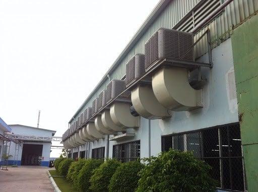 Hệ thống thông gió kết hợp làm mát