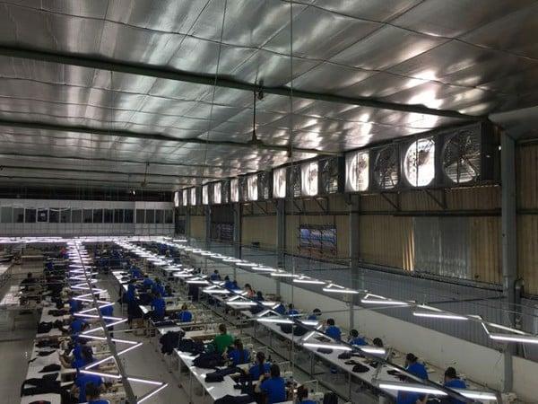 Các bước lắp đặt hệ thống làm mát nhà xưởng