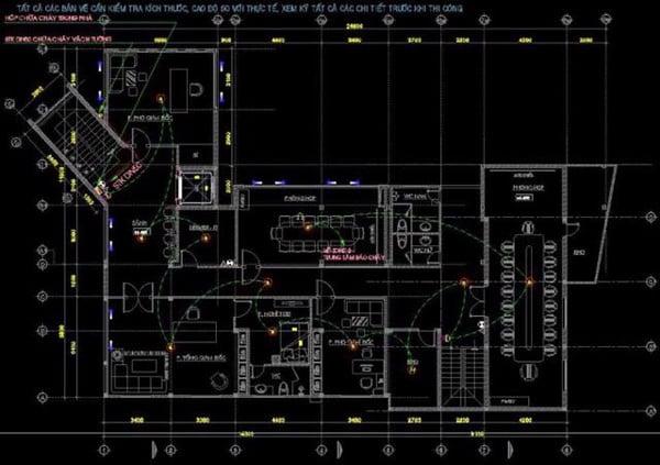 Yêu cầu thiết kế hệ thống PCCC