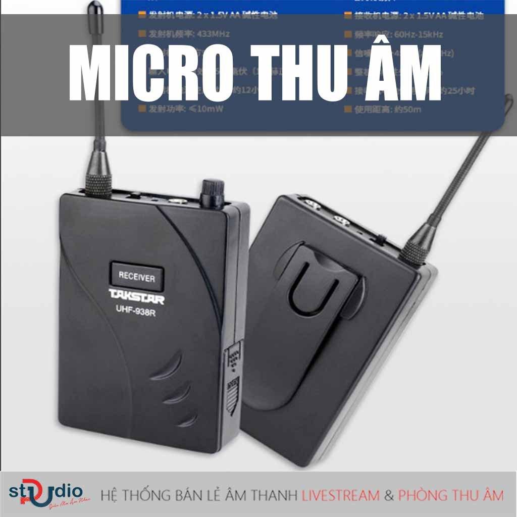 Tất tần tật kiến thức về Micro thu âm cho người mới tìm hiểu