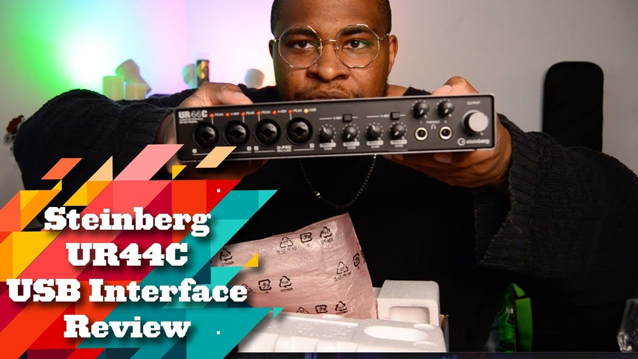 Steinberg UR44C USB Interface Review