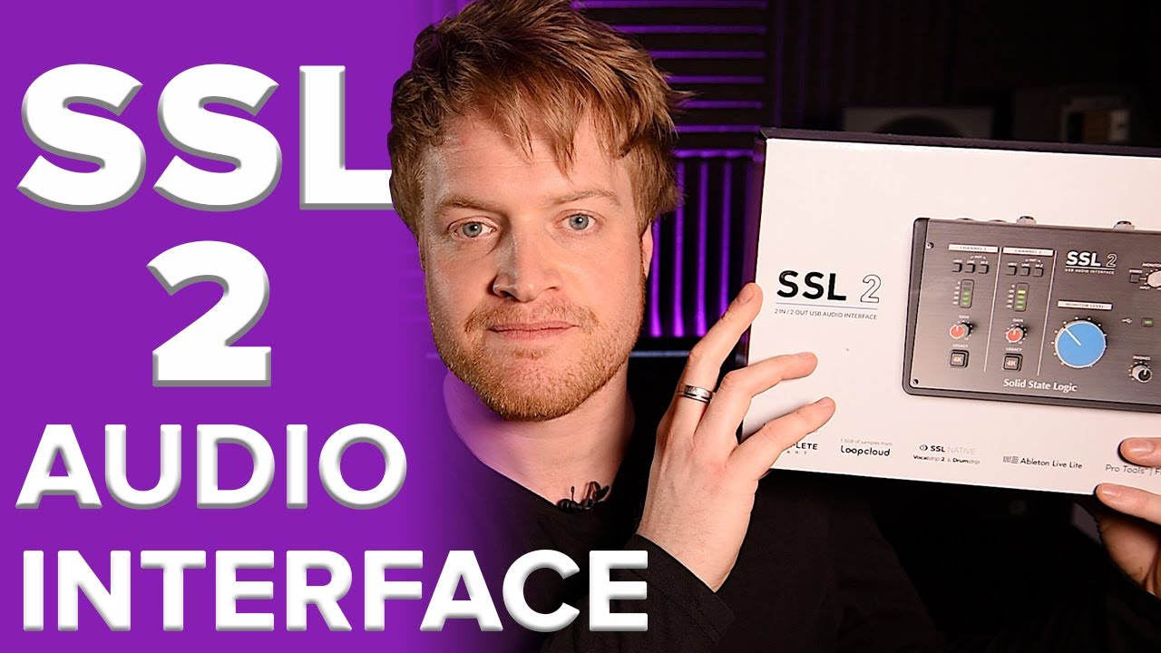 SSL 2 AUDIO INTERFACE REVIEW | Best New Audio Interface of 2020? Solid State Logic Preamps