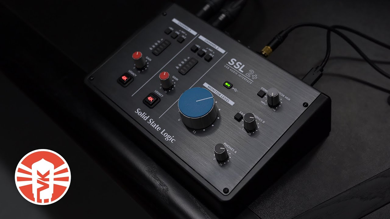 Recording And Mixing With The New Solid State Logic SSL2+ Interface