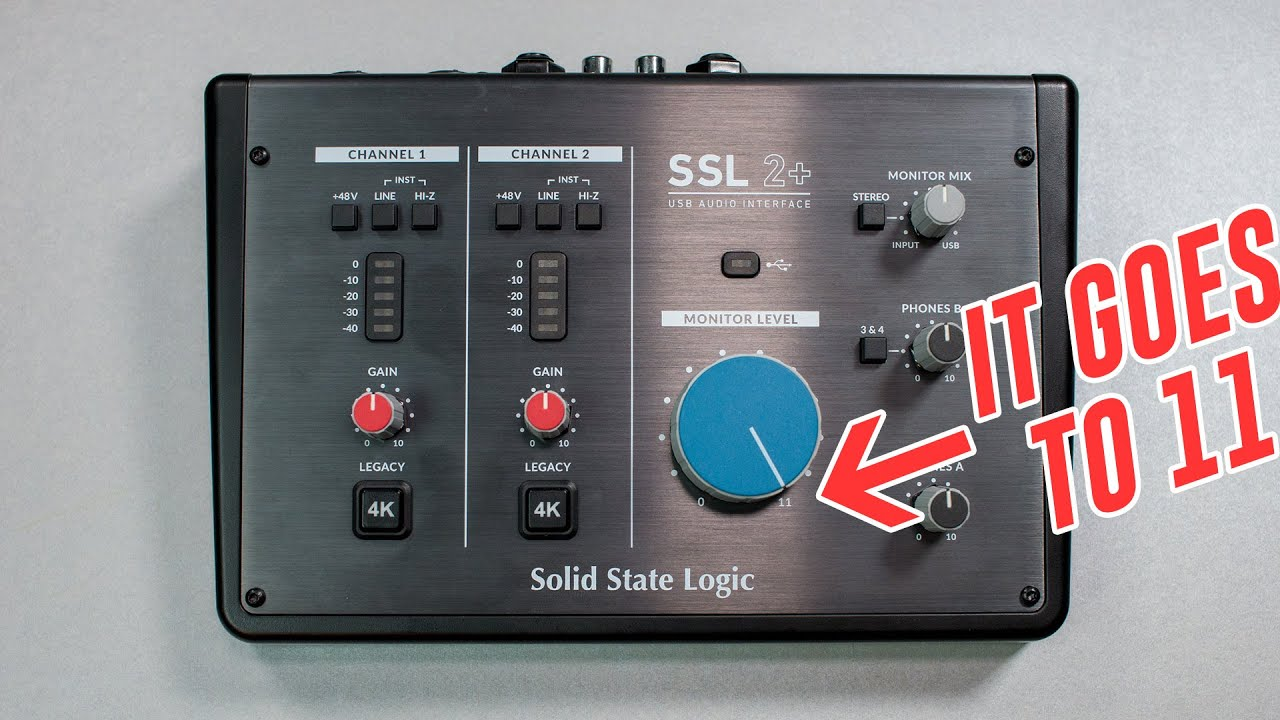 Solid State Logic SSL2+ USB Audio Interface Review
