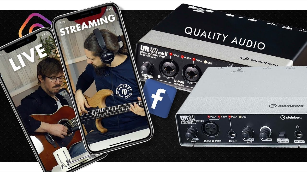 Stream Live With Quality Audio! | Steinberg