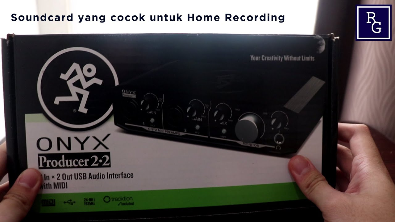 Unboxing dan Review Soundcard Onyx Producer 2 2