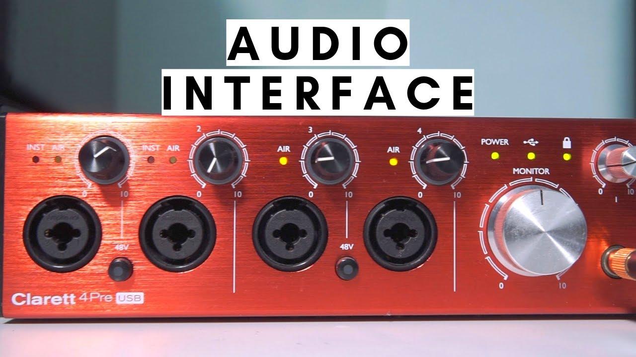 (Review) Focusrite Clarett 4Pre | Audio Interface