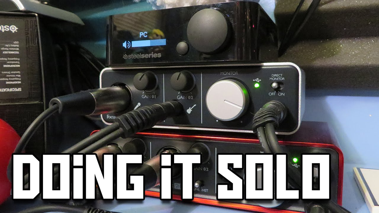 Focusrite iTrack Solo Review (USB Audio Interface)