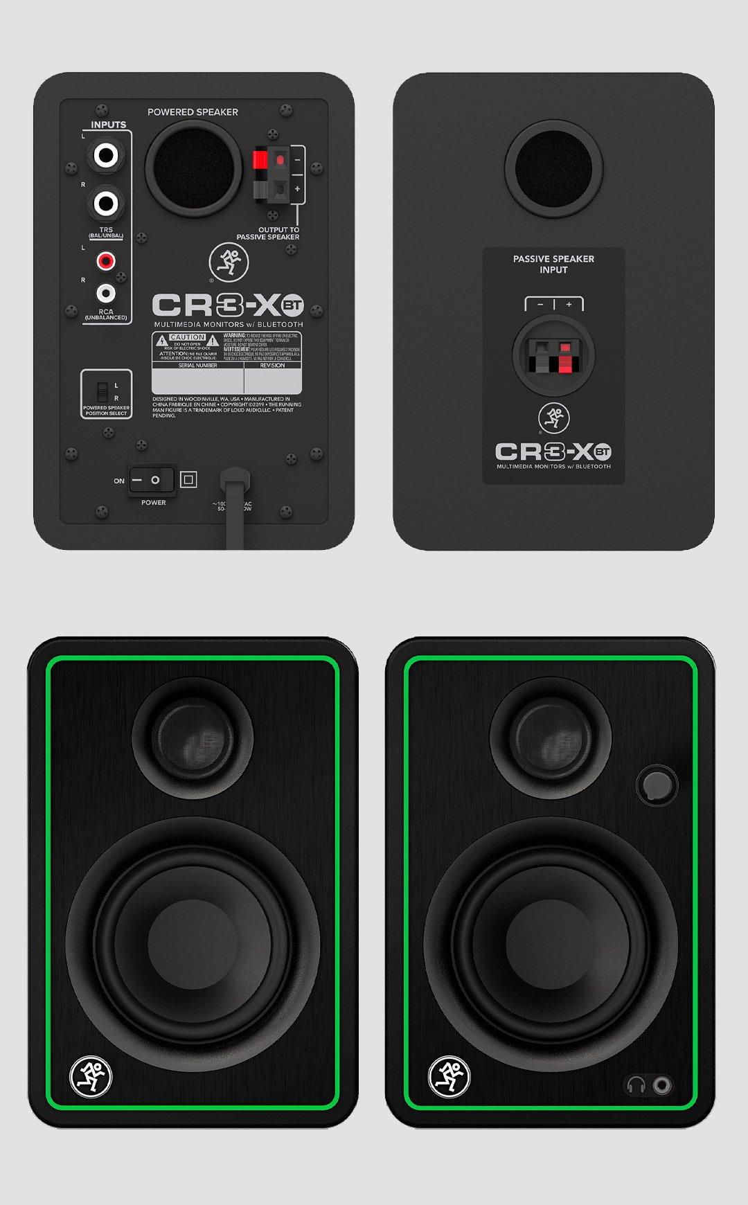 Loa kiểm âm MACKIE CR3-XBT, Monitor Studio Bluetooth