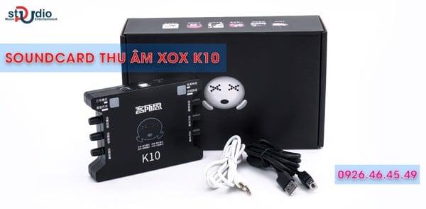 soundcard xox k10
