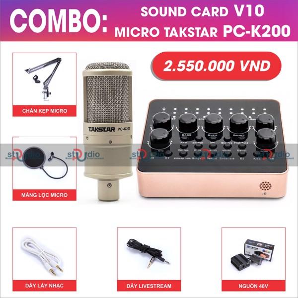 Micro livestream takstar PC K200