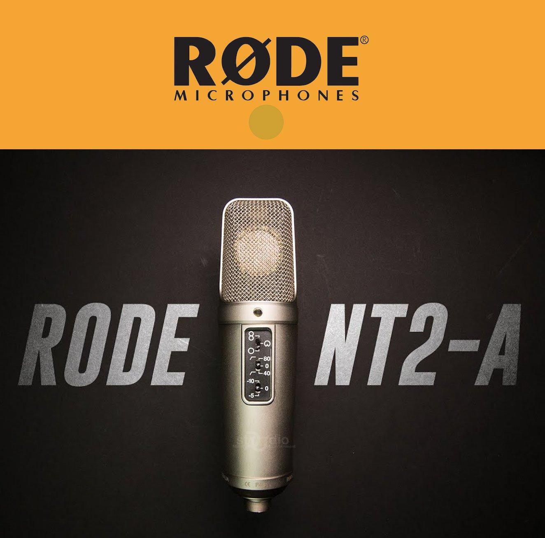 Microphone RODE NT2-A, Micro thu âm chuyên nghiệp Condenser