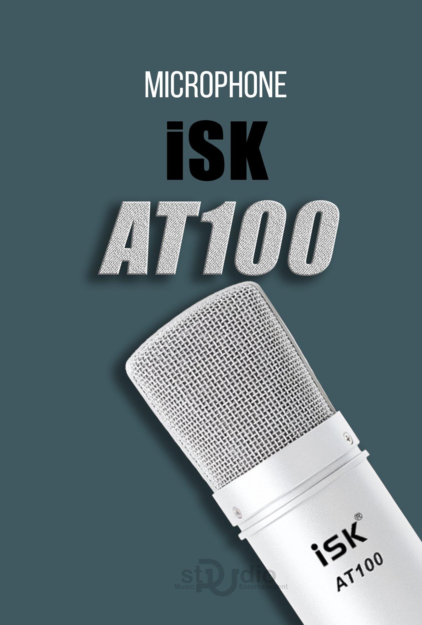 Micro livestream ISK AT 100, micro mà dân mạng hay gọi Micro Hoa Vinh