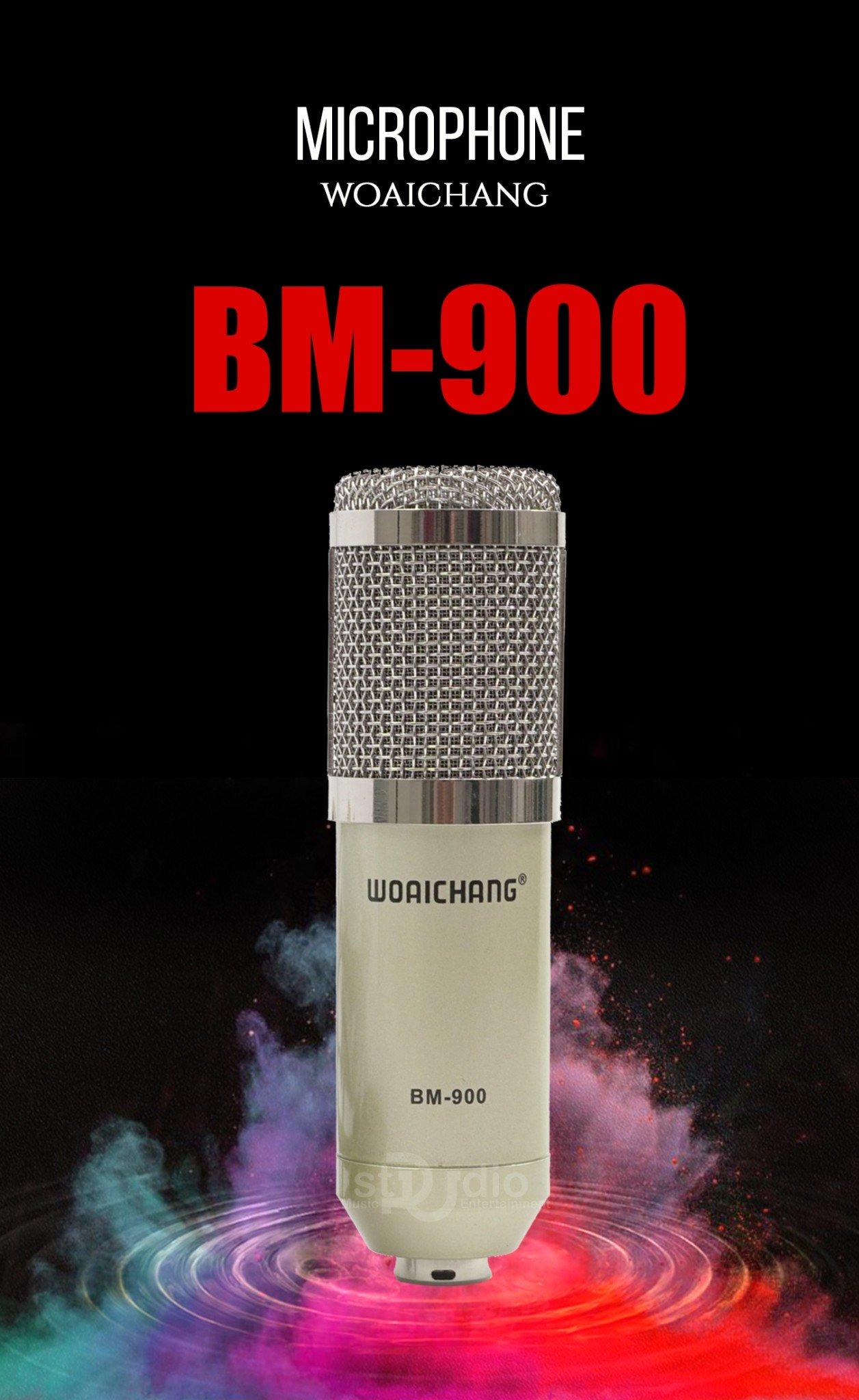 MICRO THU ÂM WOAI CHANG BM900