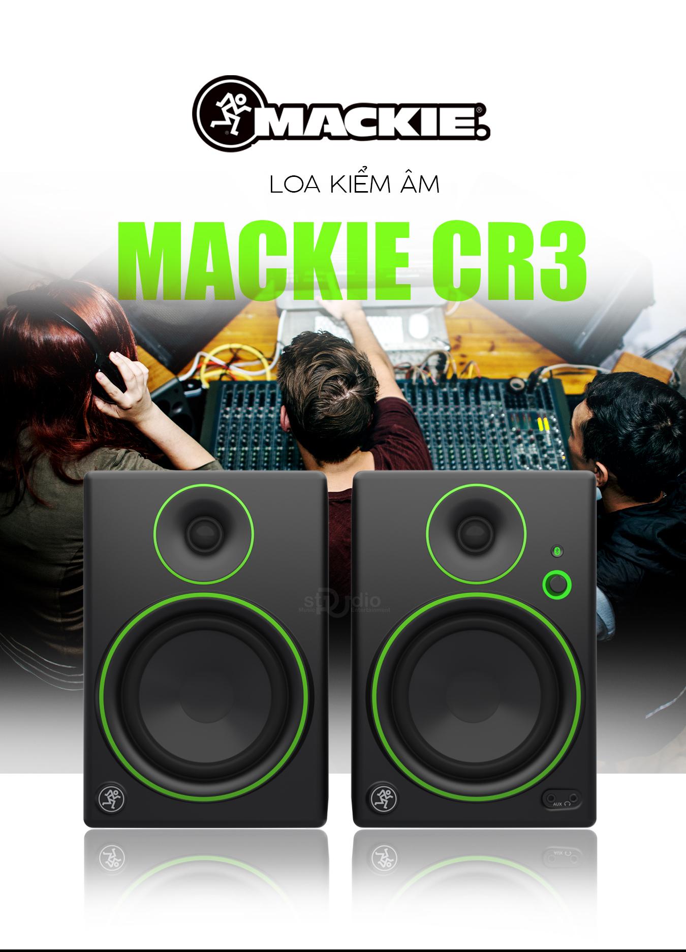 Loa kiểm âm MACKIE CR3, Monitor Studio giá tốt