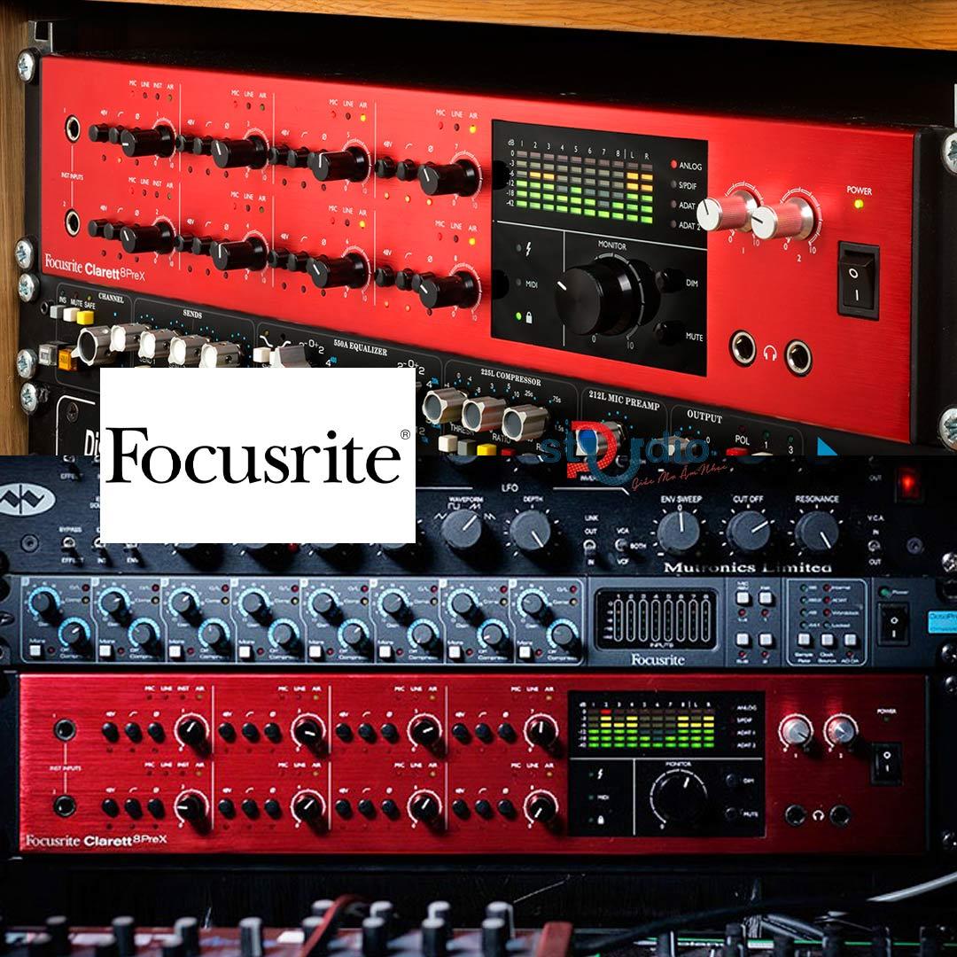 Sound card Focusrite Clarett 8PreX Thunderbolt Audio Interface