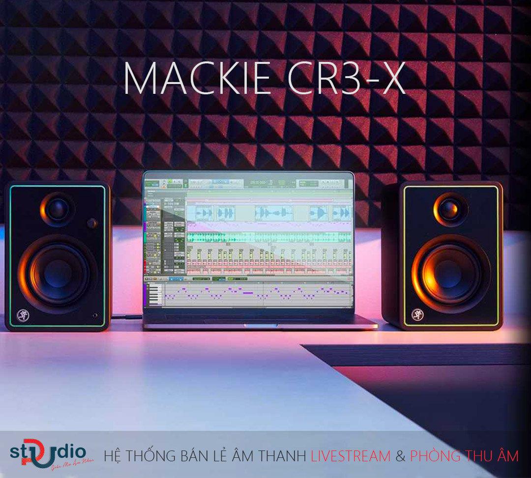 Loa kiểm âm MACKIE CR3-X, Monitor Studio giá tốt