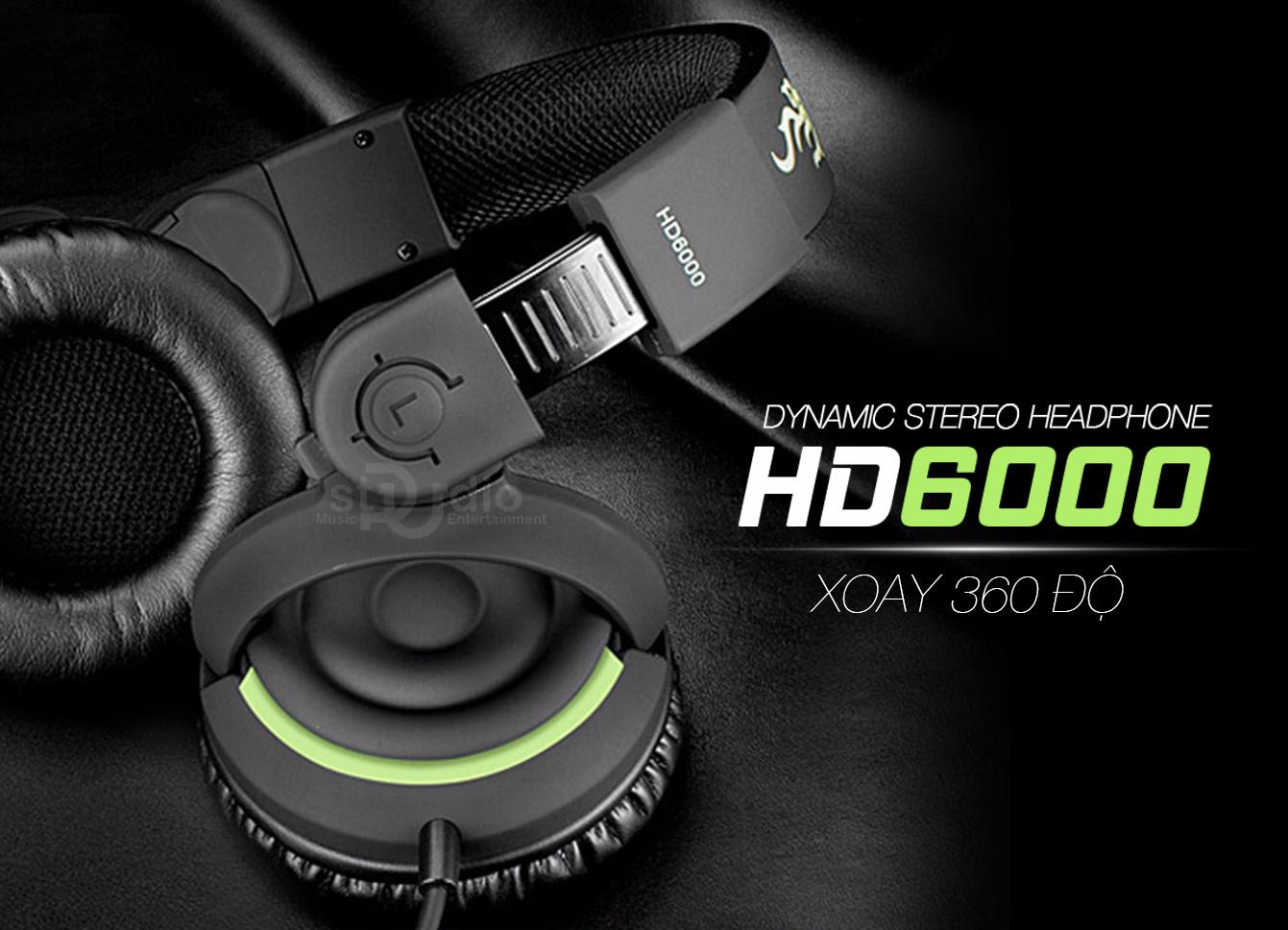 Tai nghe kiểm âm Takstar HD6000, Headphone Studio