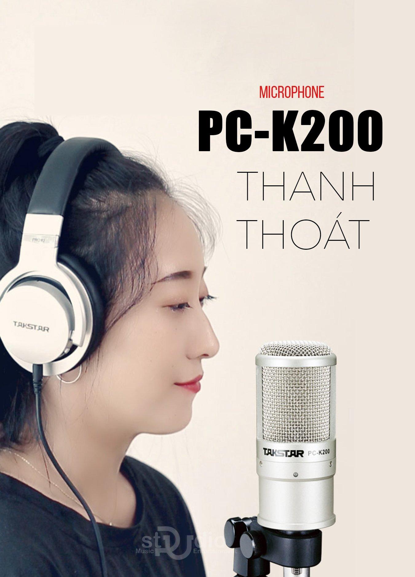 MICRO THU ÂM TAKSTAR PC-K200