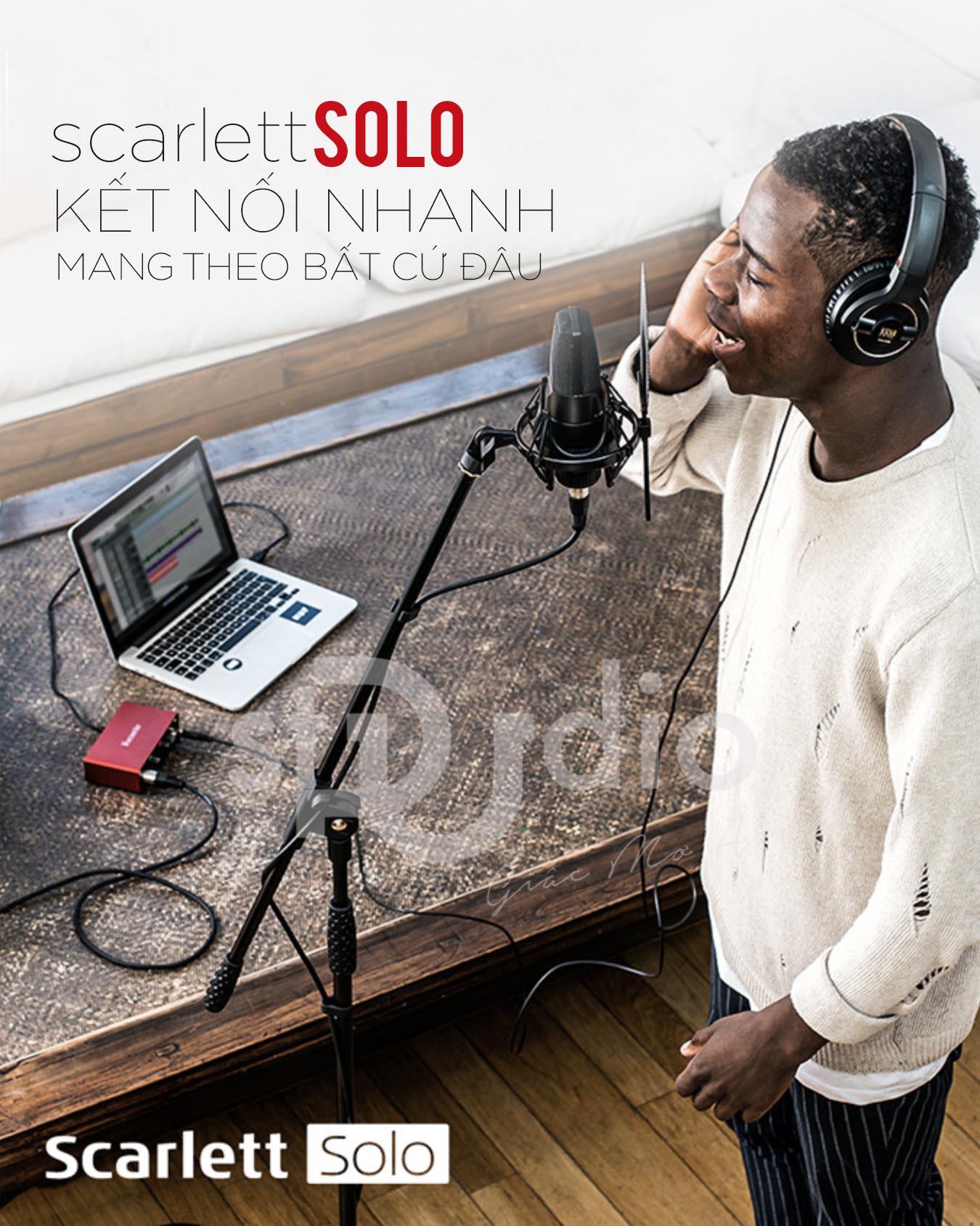 Soundcard Focusrite Scarlett Solo 3rd (Gen)