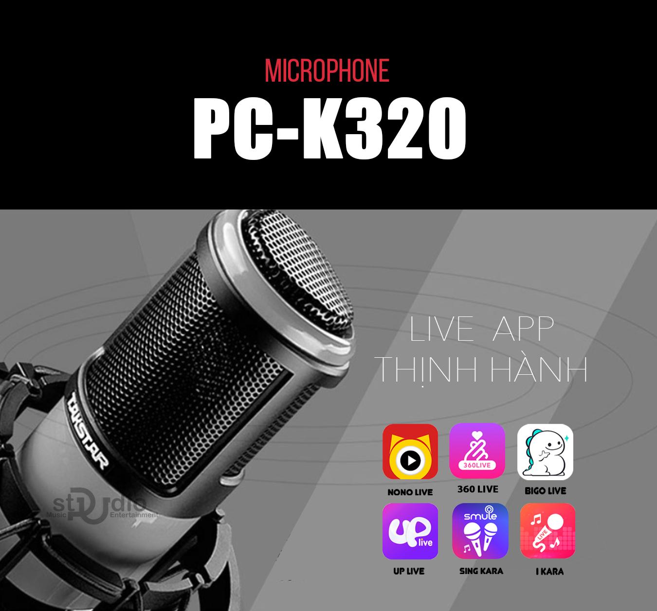 MICRO THU ÂM TAKSTAR PC-K320