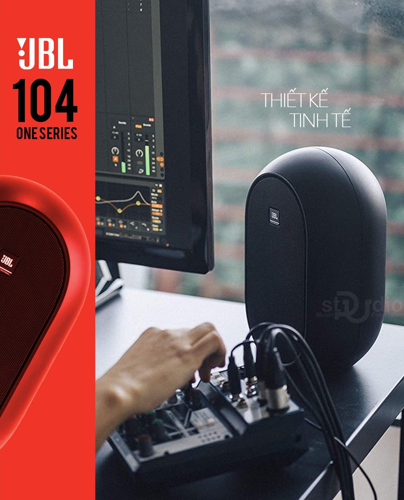 Loa kiểm âm JBL 104 (Cặp), Monitor Studio Music