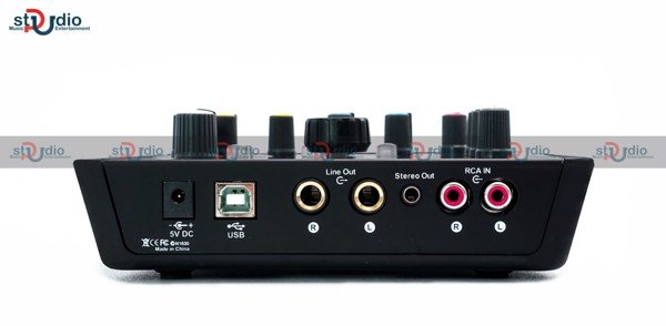 Sound card livestream thu âm Icon Upod Pro