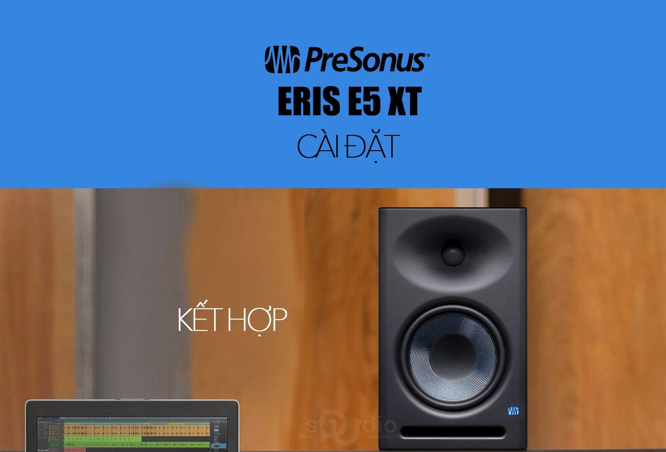 Loa kiểm âm PRESONUS ERIS E5XT, Monitor Studio