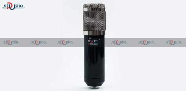 Micro Ami Bm 900 livestream cho âm thanh chất lượng, kèm dây